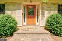 Gorgeous front door - 2415 BLACK CAP LN, RESTON