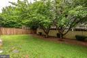 Large yard fully fenced - 859 N ABINGDON ST, ARLINGTON