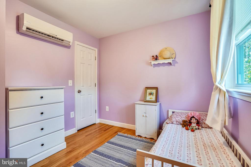 Junior Bedroom #3 upstairs has zoned HVAC - 111 BAKER ST, MANASSAS PARK