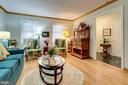 ML - Living Room.  Very spacious - 607 23RD ST S, ARLINGTON