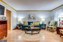 ML - Living Room with beautiful hardwood floors - 607 23RD ST S, ARLINGTON