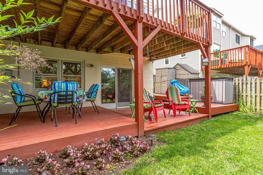 BY - Double Decks.  2 Sheds (more storage space) - 607 23RD ST S, ARLINGTON
