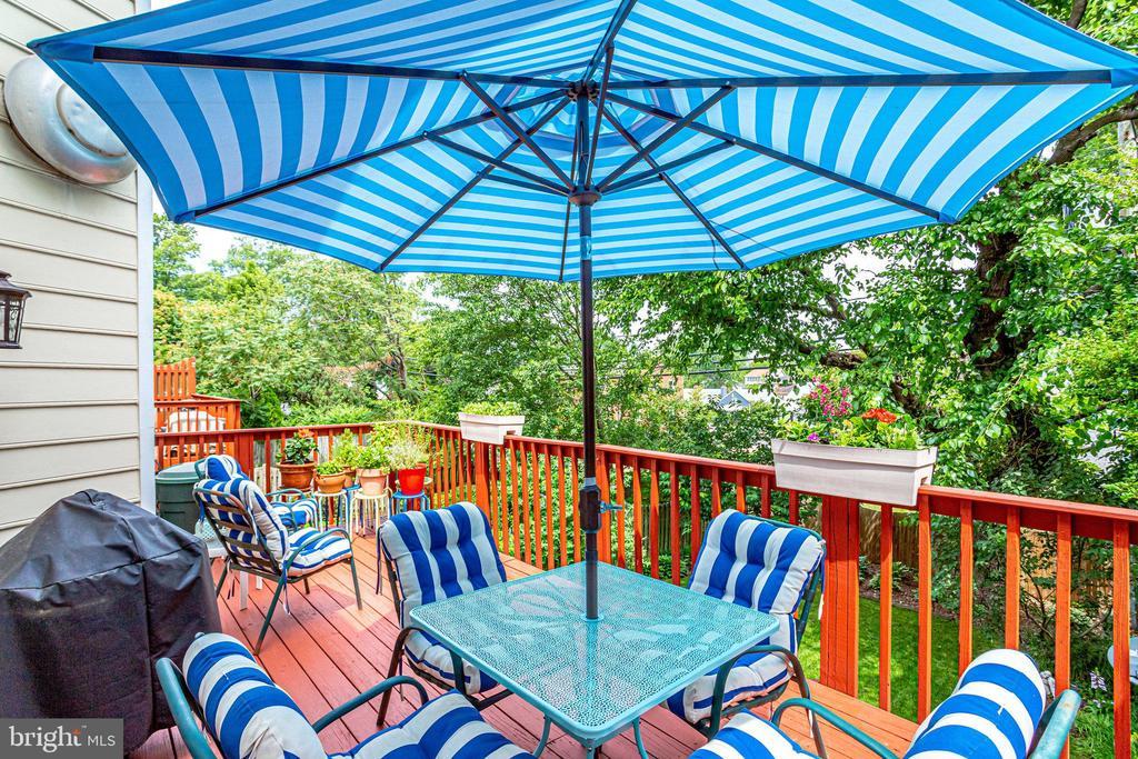ML-Upper Deck. Private/Beautiful back yard - 607 23RD ST S, ARLINGTON