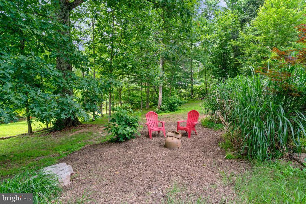 Private garden - 12805 KAHNS RD, MANASSAS