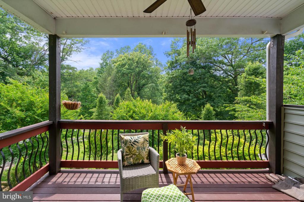 Owner's suite balcony - 12805 KAHNS RD, MANASSAS