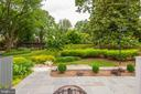 View of the beautifully landscaped common area - 11568 LINKS DR, RESTON