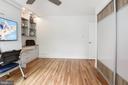 Bedroom #2 w/ murphy bed up - 11568 LINKS DR, RESTON