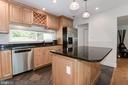 Oversized Island opening to Dining Area - 11568 LINKS DR, RESTON