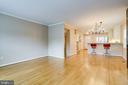 Gleaming hardwood floors - 6705 WASHINGTON BLVD #G, ARLINGTON