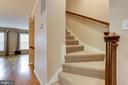 Stair to upper level - 6705 WASHINGTON BLVD #G, ARLINGTON
