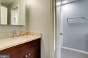 Renovated half bath - 6705 WASHINGTON BLVD #G, ARLINGTON