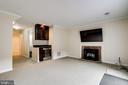 Lower level rec room with wine bar - 6705 WASHINGTON BLVD #G, ARLINGTON