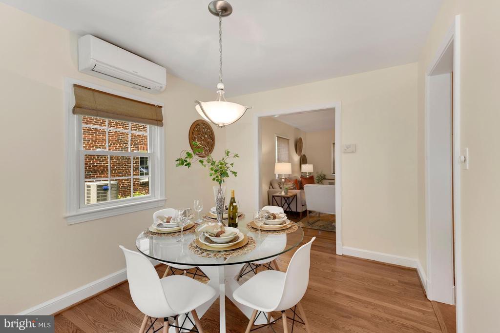 Dining Room toward Living Room - 710 N NELSON ST, ARLINGTON