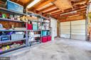 Inside detached garage has plenty of space - 111 BAKER ST, MANASSAS PARK