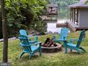 Fire Pit by the Lake - 16009 CARRINGTON CT, MINERAL