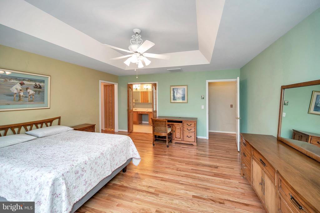 Bedroom 1 view to walk in closet & bath - 205 PINE VALLEY RD, LOCUST GROVE
