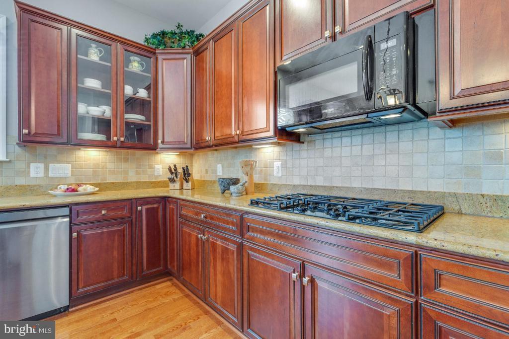 Upgraded Cabinets & Undermount Lighting - 41873 REDGATE WAY, ASHBURN