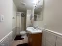 Bathroom 3 in basement - 5919 VERNONS OAK CT, BURKE