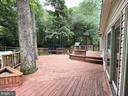 Beautiful Deck - 5919 VERNONS OAK CT, BURKE