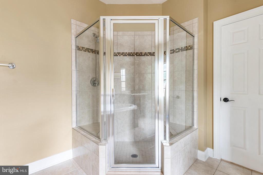 Main Level Master bathroom - 8503 WEDDERBURN STATION DR, VIENNA
