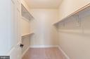 Bedroom LL walk-in closet - 8503 WEDDERBURN STATION DR, VIENNA