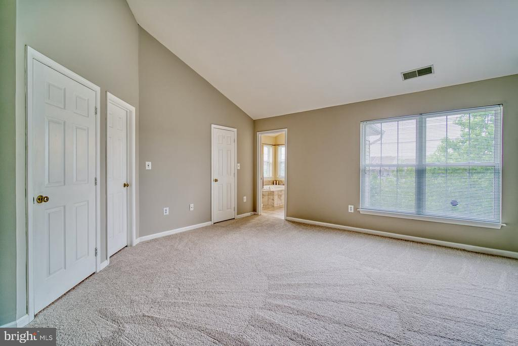 vaulted ceilings in pirmary br - 44101 RISING SUN TER, ASHBURN