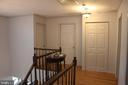 Hall way - 8235 WALNUT RIDGE RD, FAIRFAX STATION