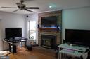 Family Room - 8235 WALNUT RIDGE RD, FAIRFAX STATION
