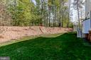Nice yard with new fence - 4525 MOSSER MILL CT, WOODBRIDGE
