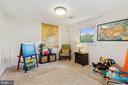 Recreation Room / Bedroom / Den on Lower Level - 4303 FIELDING ST, ALEXANDRIA