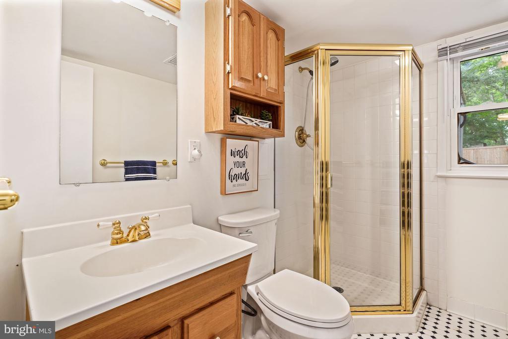 Second Full Bath on Lower Level - 4303 FIELDING ST, ALEXANDRIA