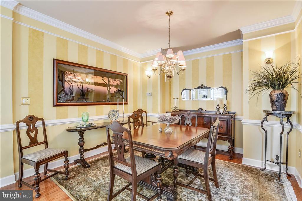Spacious dining room - 43427 WILD DUNES SQ, LEESBURG