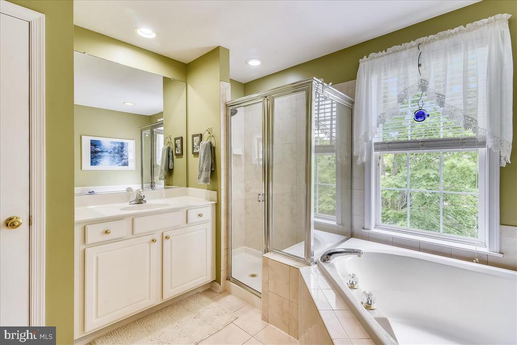 Large bath with double vanities - 43427 WILD DUNES SQ, LEESBURG