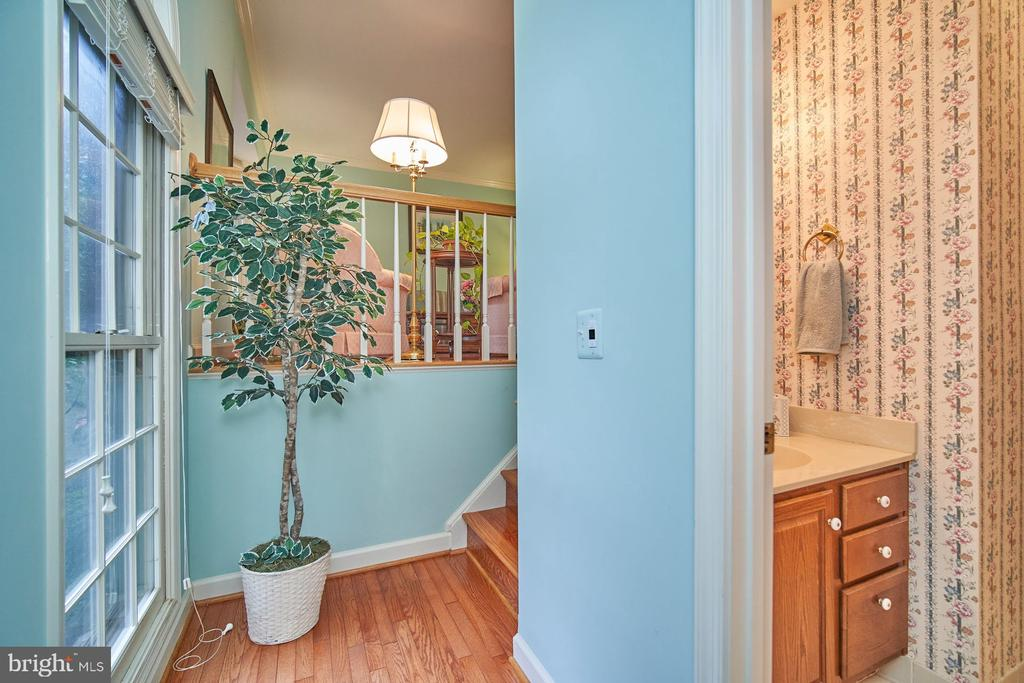 Entry from Front Door - 6347 CROOKED OAK LN, FALLS CHURCH
