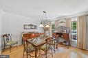 Inviting Dining Room - 17318 ARROWOOD PL, ROUND HILL