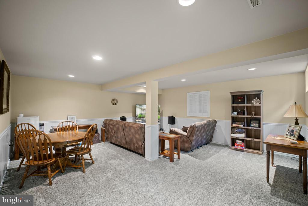 Large Recreation Room - 17318 ARROWOOD PL, ROUND HILL