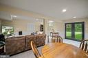 Walk Out Steel French Doors with Privacy Glass - 17318 ARROWOOD PL, ROUND HILL