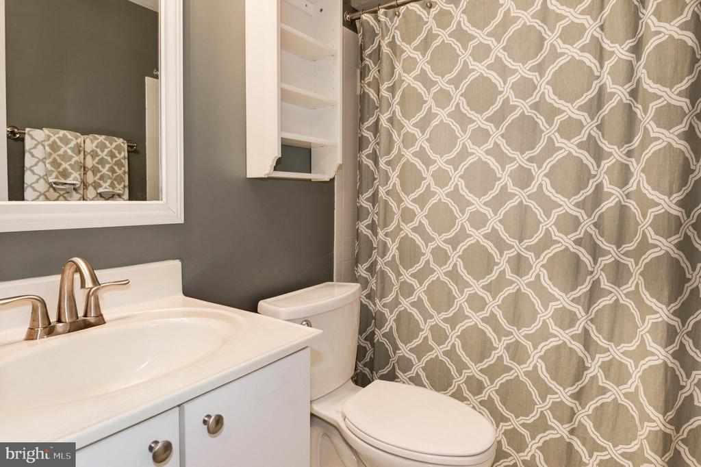 Lower Level Full Bathroom - 1211 HERITAGE COMMONS CT, RESTON