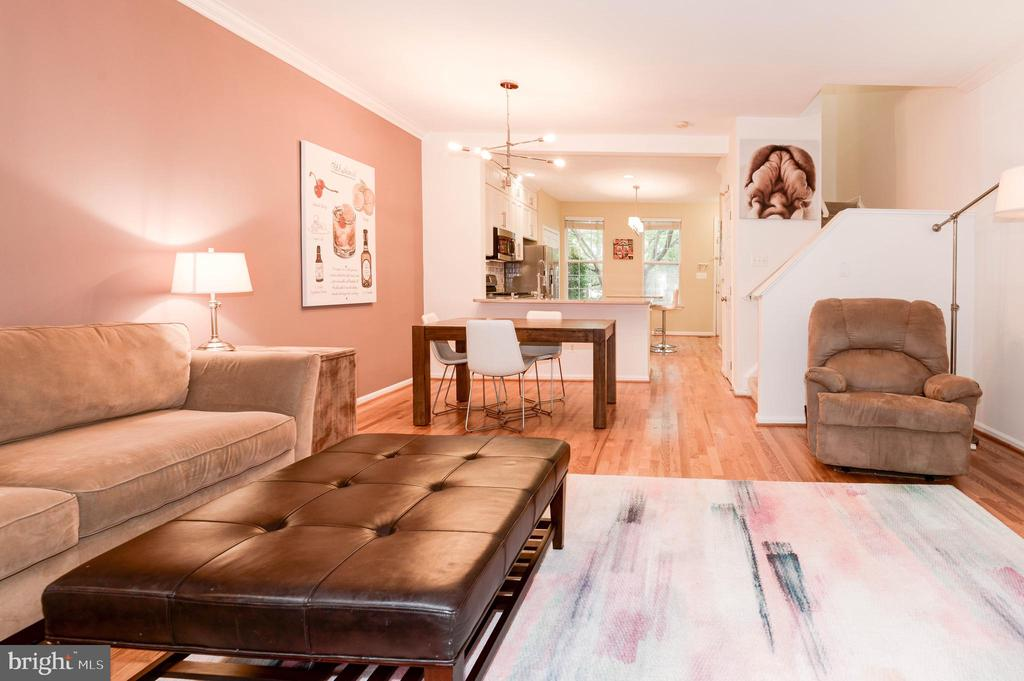 Living Room - 1211 HERITAGE COMMONS CT, RESTON