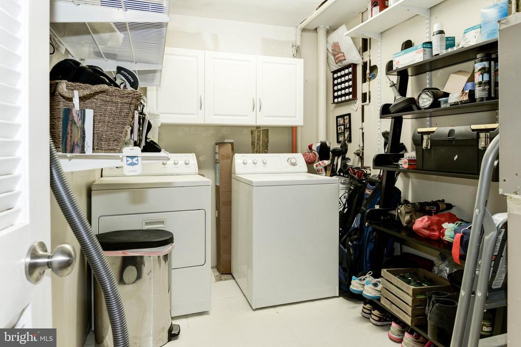 Lower Level Laundry/Storage Room - 1211 HERITAGE COMMONS CT, RESTON