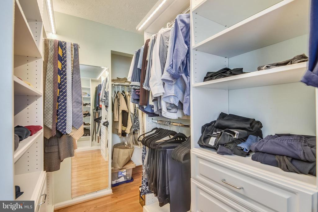 1 of 2 primary w/in closets that goes forever - 1515 STUART RD, RESTON