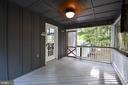 Side Screened Porch - 16009 CARRINGTON CT, MINERAL