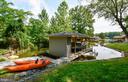 New Boat House w/2 Jet Ski Platforms - 16009 CARRINGTON CT, MINERAL