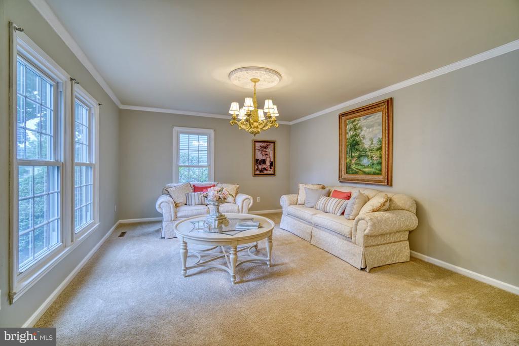 Living room - 45838 CABIN BRANCH DR, STERLING