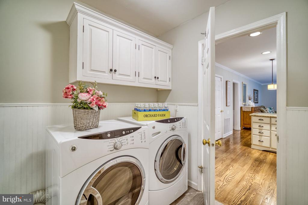 Main Level Laundry Room - 45838 CABIN BRANCH DR, STERLING
