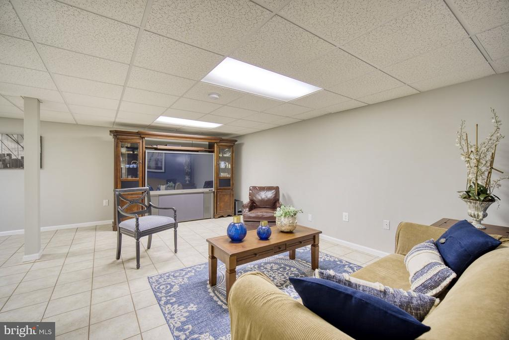 Entertaining area on lower level - 45838 CABIN BRANCH DR, STERLING