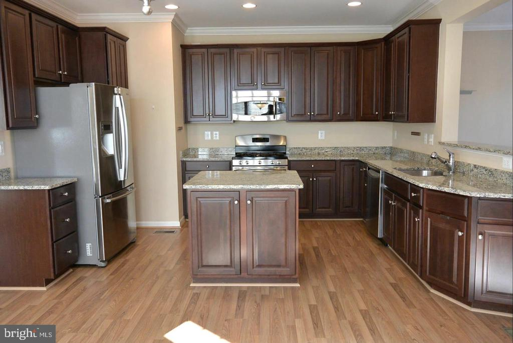Stainless Steel appliances in kitchen - 38 HUNTING CREEK LN, STAFFORD