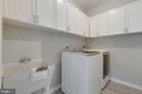 Laundry Room with Utility Sink - 4266 WILTSHIRE PL, DUMFRIES