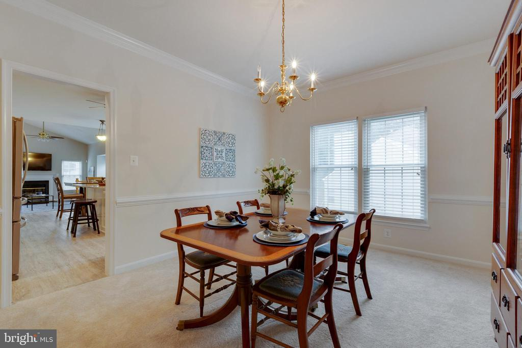 Dining Room - 4266 WILTSHIRE PL, DUMFRIES