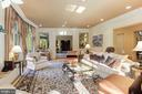 Spacious elegance - the formal living room - 1342 POTOMAC SCHOOL RD, MCLEAN